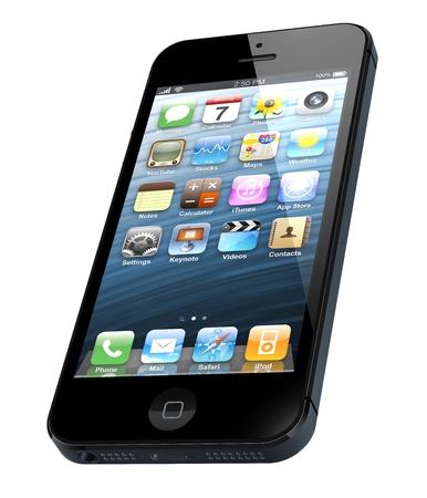 新しいアップルの iPhone 5 は 2012 年 9 月 12 日にアップル Inc によって販売のためリリースされました。
