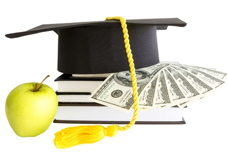 Money and books for education