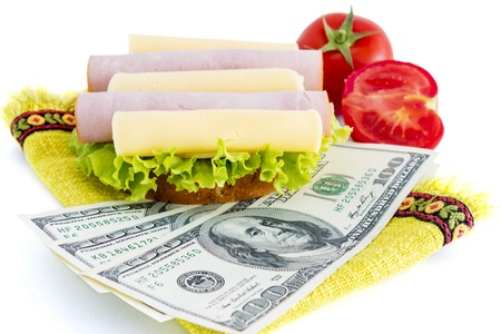 expensive food: Costs for food  Food is expensive