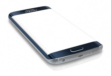 Samsung Galaxy S6 Edge is the first device with dual-curved glass display. The Samsung Galaxy S6 and Galaxy S6 Edge was launched at a press event in Barcelona on March 1 2015. Galaxy S6 has Quad HD Super AMOLED, 2560x1440, 577 PPI, Lightning-fast 64 bit a