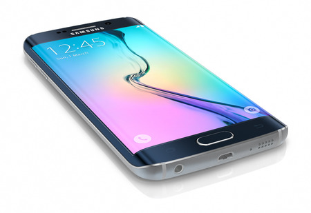 samsung galaxy: Samsung Galaxy S6 Edge is the first device with dual-curved glass display. The Samsung Galaxy S6 and Galaxy S6 Edge was launched at a press event in Barcelona on March 1 2015. Galaxy S6 has Quad HD Super AMOLED, 2560x1440, 577 PPI, Lightning-fast 64 bit a