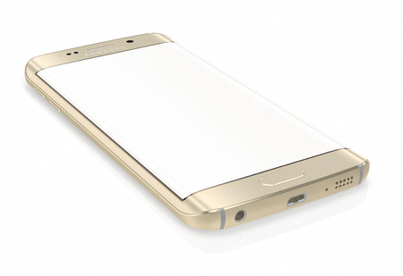 samsung galaxy: Samsung Galaxy S6 Edge is the first device with dual-curved glass display