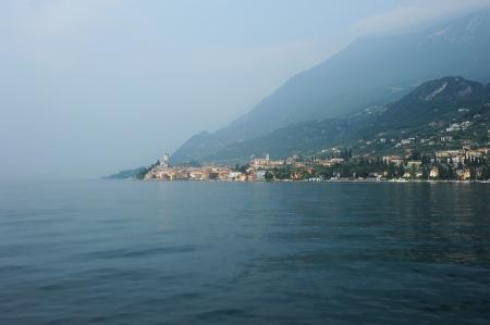 shore of Lake Garda photo