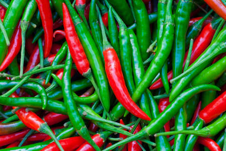 chili red green  Stock Photo - 13035757