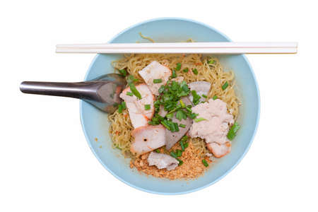 thai noodle Stock Photo