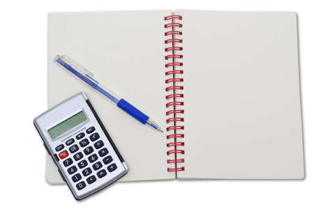 notebook calculator pen
