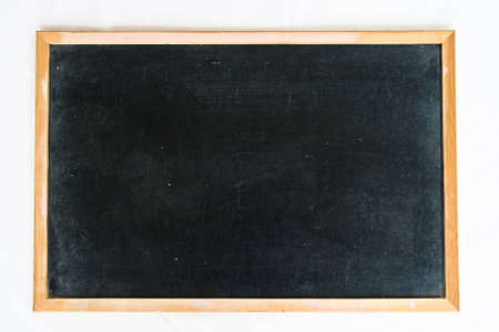 empty blackboard with wooden  Stock Photo - 9827436