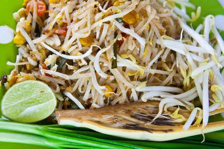 Thai food Pad thai photo