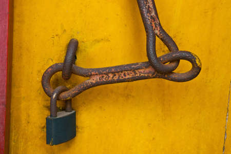 old closure device  photo