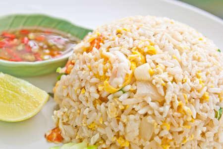 fried rice with pork, Thai cuisine Stock Photo - 10682542