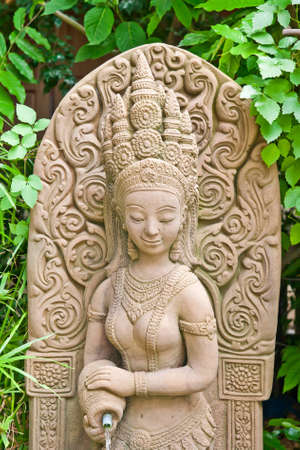 Buddhist architecture, Bangkok, Thailand  photo