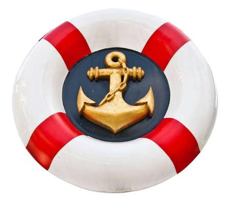 Anchor logo navy Stock Photo - 10987796