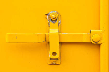 closed metal door Stock Photo - 11465797