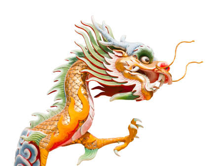 Chinese style dragon statue  Stock Photo - 13536955