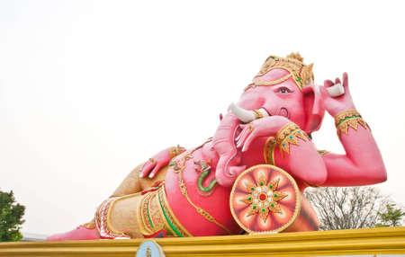 Ganesha statue in Thailand  Stock Photo - 13628324