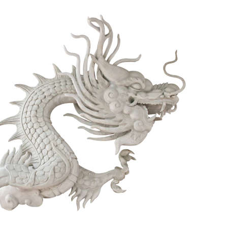 Chinese style dragon statue Stock Photo - 13628122
