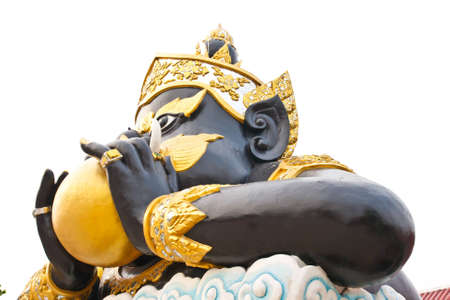 Rahu at the Temple in Thailand photo