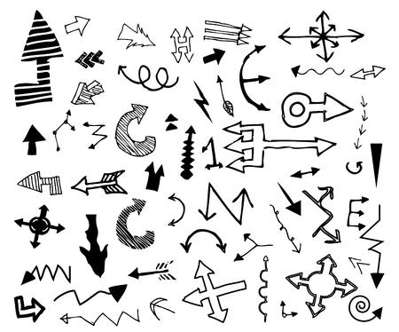 taper: Arrow doodle , hand drawn Illustration