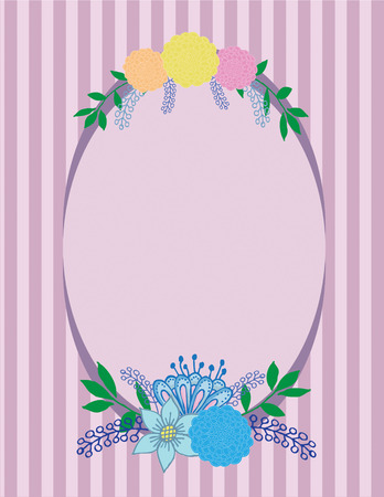 yello: floral bouquet pattern Illustration