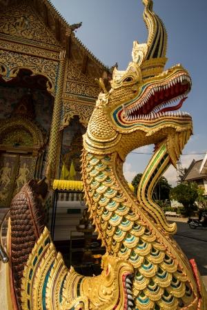 statuary: Naga statuary Stock Photo