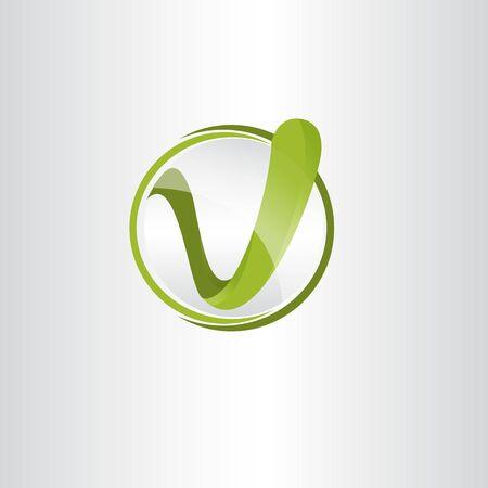 Creative letter V modern alphabet symbol vector. Technology design letter V for element design. Vector illustration . Vettoriali