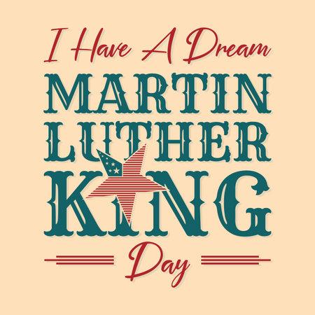 MLK or Martin Luther King letter emblem design vintage style.