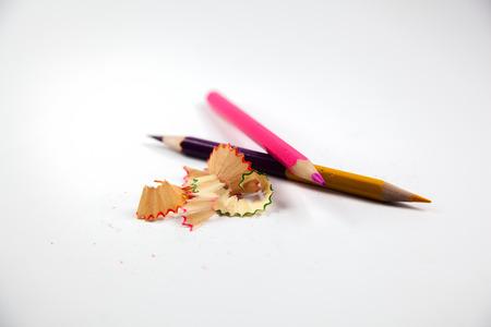 sacapuntas: Pencil sharpener shavings