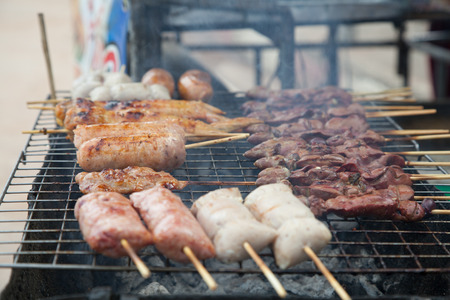 grill: Grill food Thailand style
