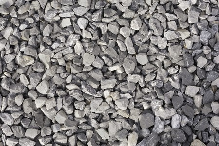 Gravel pattern, shapes, and textures