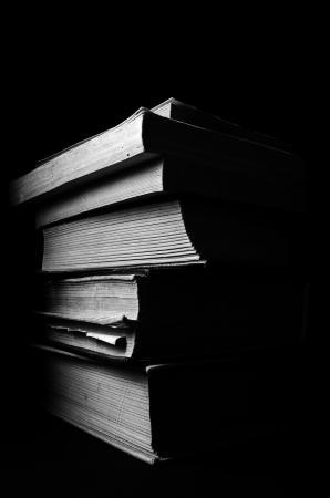 Een stapel van oude boeken