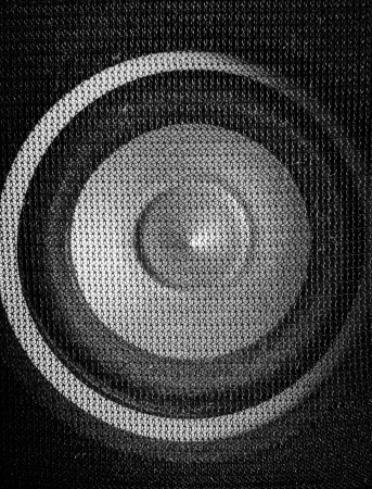 Loudspeaker close-up