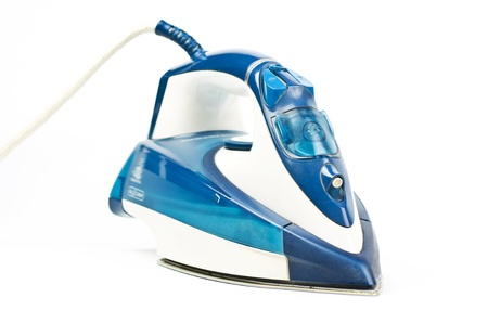 Steam Iron isolated on white background