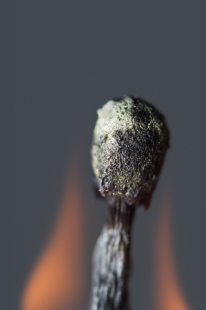 Burning match Stock Photo - 17912157