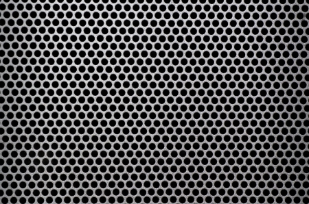 Metal background with circles 版權商用圖片 - 18050171