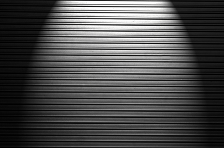 Dirty metal texture with spotlight