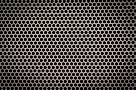 Metal background with circles  photo