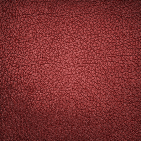 Red leather texture or background Stock Photo - 20395022