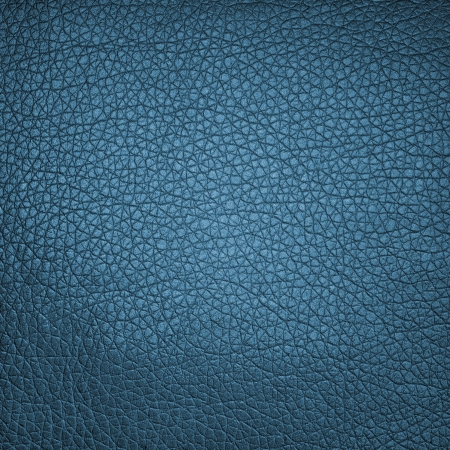 cracklier: Old dark blue leather texture or background Stock Photo
