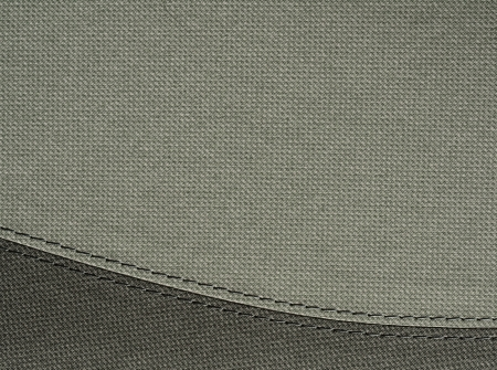 chamois leather:  stripe on grey background with copyspace  Stock Photo