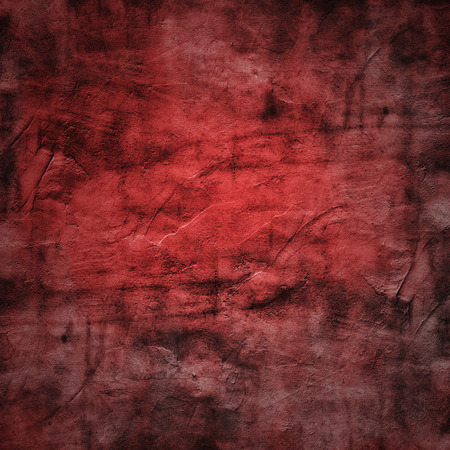 dilapidated wall: Grunge texture of a dilapidated wall in a red tone with fog effect added