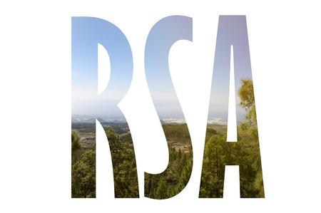 Sfondo con la parola Nuova Zelanda. Le lettere erano fatte da sfondi che formano una relazione con il luogo dato Archivio Fotografico - 75830220