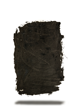 grunge black paint abstract background