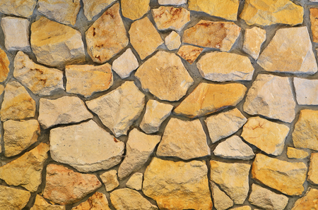 Background of sandstone wall texture