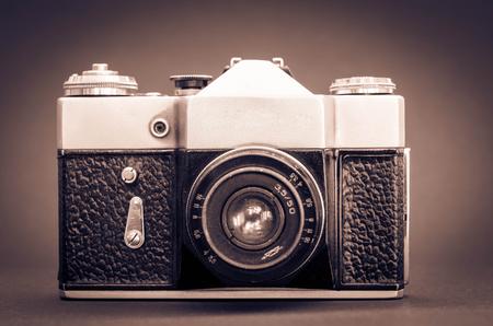 retro camera shot with vignette 版權商用圖片