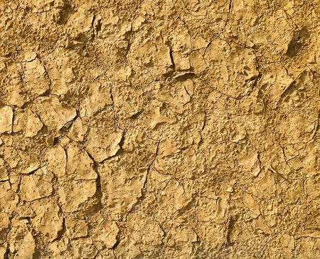 cracked clay ground into the dry season 版權商用圖片