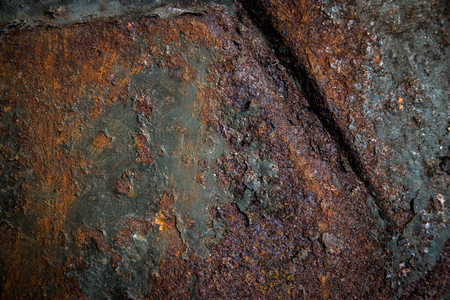Rusted metal texture 版權商用圖片