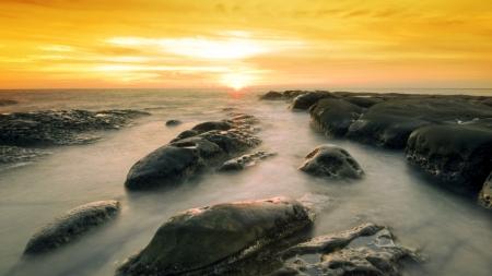 beatiful rock formation at simpang mengayau sabah  photo