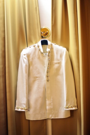 the groom coat for wedding hanging