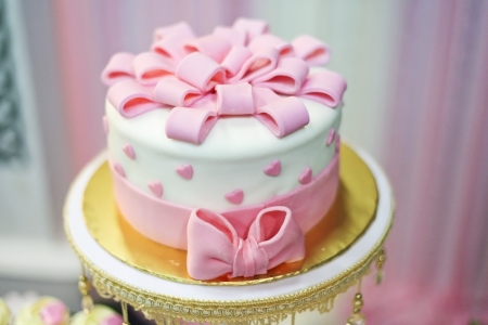 traditional celebrations: lovely cake for wedding event