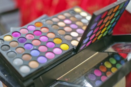 the make up set for wedding event